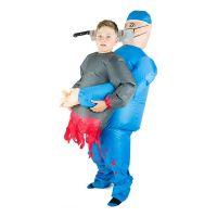 Bild på Uppblåsbar Bärande Kirurg Barn Maskeraddräkt - One size