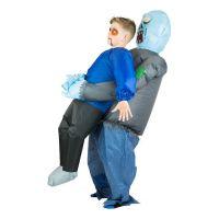 Bild på Uppblåsbar Bärande Zombie Barn Maskeraddräkt - One size