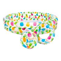 Bild på Uppblåsbar Barnpool med Badleksaker Set