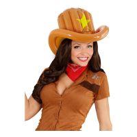 Bild på Uppblåsbar Cowboyhatt - One size