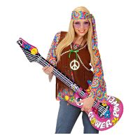 Bild på Uppblåsbar Gitarr Flower Power