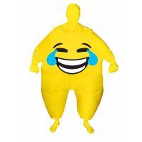 Bild på Uppblåsbar Morhpsuit Smiley