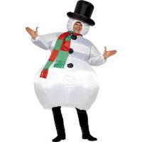 Bild på Uppblåsbar snögubbe