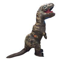 Bild på Uppblåsbar T-Rex Kamouflage Maskeraddräkt - One size