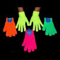Bild på UV Neon Fingerhandskar - Rosa
