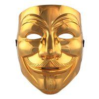 Bild på V For Vendetta Guld Mask - One size