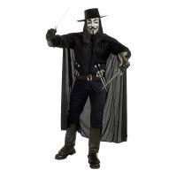 Bild på V for Vendetta Maskeraddräkt - Standard
