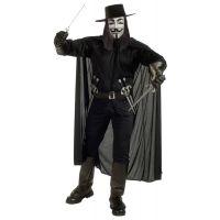 Bild på V For Vendetta Maskeraddräkt (Standard)
