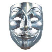 Bild på V For Vendetta Silver Mask - One size