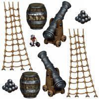 Bild på Väggdekoration Deluxe Pirat