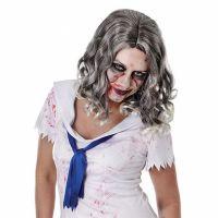 Bild på Vågig Zombie Peruk