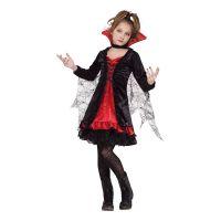 Bild på Vampyra Spets Barn Maskeraddräkt - Small