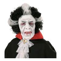 Bild på Vampyrmask med Peruk - One size