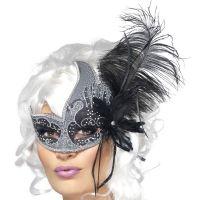 Bild på Venetiansk Mask Dark Archangel