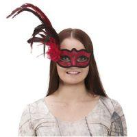 Bild på Venetiansk ögonmask med fjäder -röd