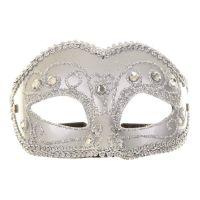 Bild på Venetiansk Silver Mask - One size