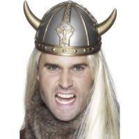 Bild på Vikingahjälm - små horn