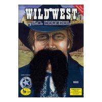 Bild på Vilda Västern Sheriff Mustasch