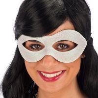 Bild på Vit Ögonmask med Glitter