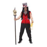 Bild på Voodoo Präst Röd Maskeraddräkt - One size