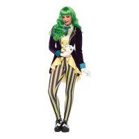 Bild på Wicked Joker Dam Deluxe Maskeraddräkt - X-Small