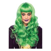 Bild på Wicked Joker Grön Deluxe Peruk - One size