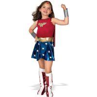Bild på Wonder Woman Barn Maskeraddräkt (Small)