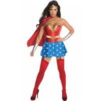 Bild på Wonder Woman Deluxe Maskeraddräkt