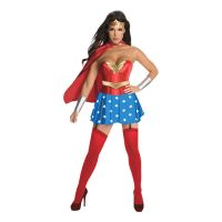Bild på Wonder Woman Deluxe Maskeraddräkt - Small