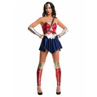 Bild på Wonder Woman Justice League Maskeraddräkt XSmall
