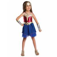 Bild på Wonder Woman Maskeraddräkt Barn Medium