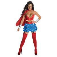 Bild på Wonder Woman Maskeraddräkt Deluxe (X-Small)