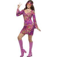 Bild på Woodstockhippie maskeraddräkt