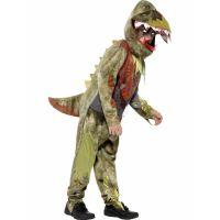 Bild på Zombie Dinosauriedräkt Barn (Small (4-6 år))