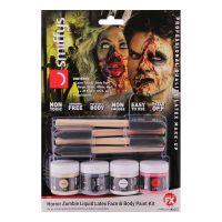 Bild på Zombie Flytande Latex Ansikts- & Kroppsfärg Kit
