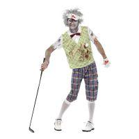 Bild på Zombie Golfare Maskeraddräkt - Medium