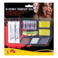 Bild på Zombie Man Makeup Kit med Latex