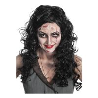 Bild på Zombie Pirat Dam Deluxe Peruk - One size