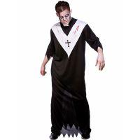 Bild på Zombie Präst Maskeraddräkt (One Size)