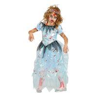 Bild på Zombie Prinsessa Barn Maskeraddräkt - Small