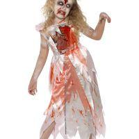 Bild på Zombie Prinsessa Maskeraddräkt Barn Medium