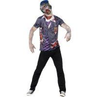 Bild på Zombie skolpojke maskeraddräkt
