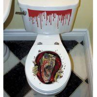Bild på Zombie Toalett Dekoration