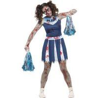 Bild på Zombiecheerleader maskeraddräkt