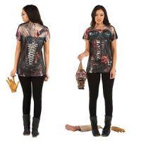 Bild på Zombiekorsett t-shirt