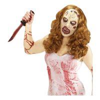 Bild på Zombiemask med Peruk - One size