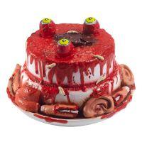 Bild på Zombietårta med Kroppsdelar Prop