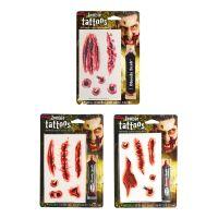 Bild på Zombietatueringar med Blod