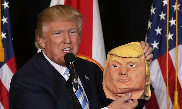 Donald Trump maskeraddräkt